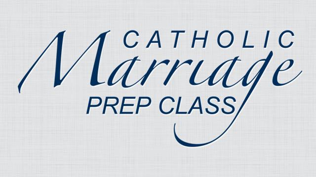 Catholic Marriage Prep Class
